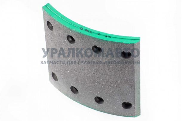 накладка тормозная задняя 184х188 (8 отверстий) качество Huatai HOWO WG9200340068